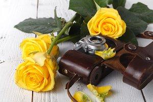 Retro film photocamera