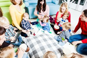 Musical education for preschoolers