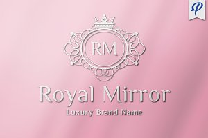 Royal Mirror - Luxury Logo Template
