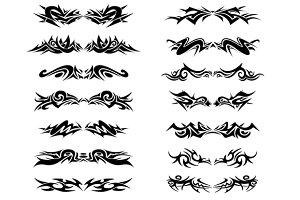 Tribal - Hand Drawn