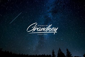 Grandhey Script Font