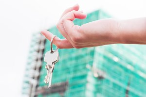 Keys to a new apartment