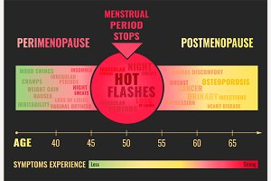 Stages of Menopause Poster