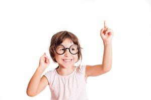 Smart girl has a good idea