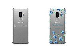 Galaxy S9 Plus UV PC Clear Case