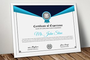 Company Word Certificate Template