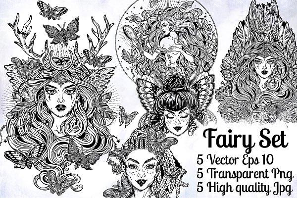 Fairy Mini Set