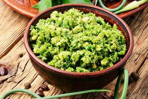 Pesto - Italian cuisine sauce