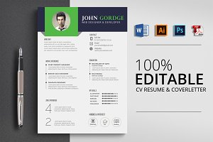 Job CV Resume Word Template