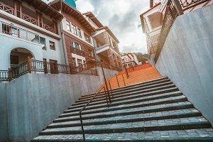 Stairway in urban settings
