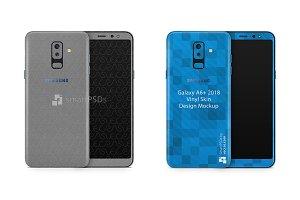 Samsung Galaxy A6 Plus Vinyl Skin