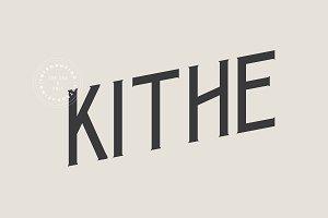 Kithe Typeface