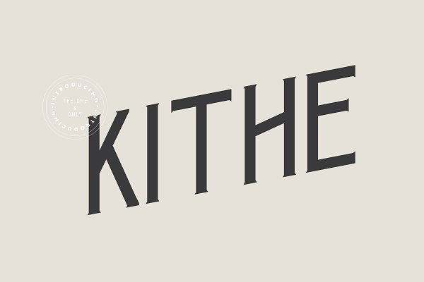 Fonts: Palmer Supply Co. - Kithe Typeface