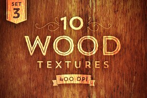 10 Wood Textures - Set 3