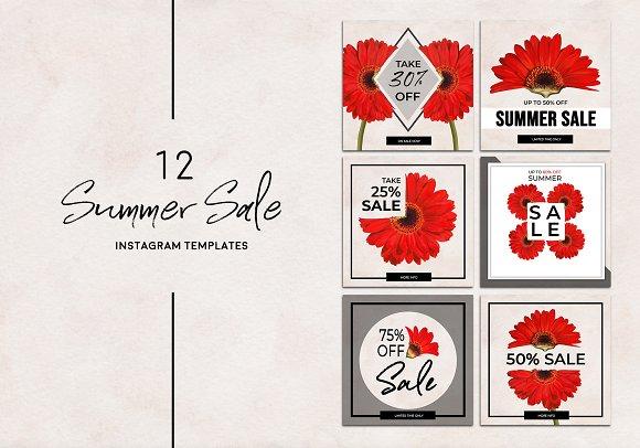 Summer Sale Instagram Pack