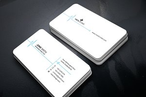 Clean Medical Business Card