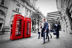 Business life concept in London