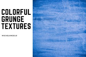 9 Colorful Grunge Textures