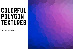 11 Colorful Polygon Textures