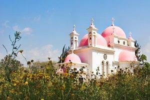 Orthodox church on coast
