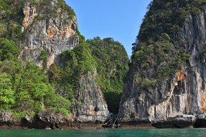 The coast of Thailand
