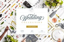 Wedding Mockup Scene Creator Bundle