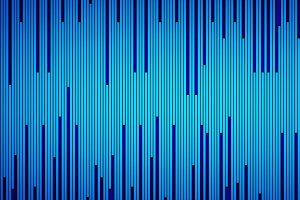 Blue striped texture background in technology concept. Computer data. 3d pattern lines illustration