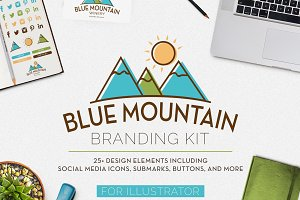 Blue Mountain Branding Kit