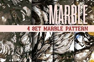 4 SET MARBLE PATTERN.