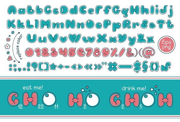 Bubble Double Duo font. Comic in Display Fonts - product preview 1
