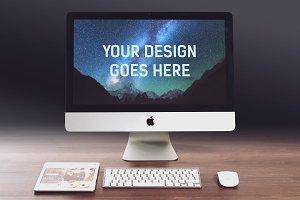iMac Display Mock-up #1
