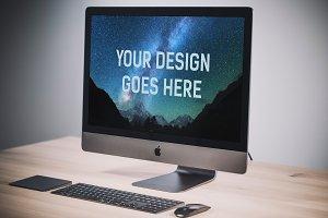 iMac Display Mock-up #2