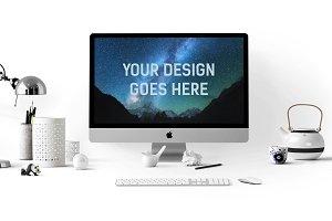 iMac Display Mock-up #3