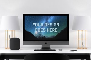 iMac Display Mock-up #5