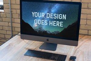 iMac Display Mock-up #7