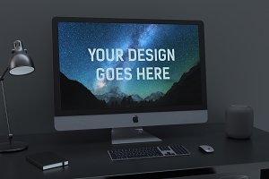 iMac Display Mock-up #8