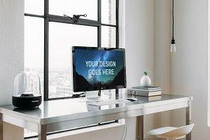 iMac Display Mock-up #10