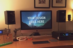 iMac Display Mock-up #12