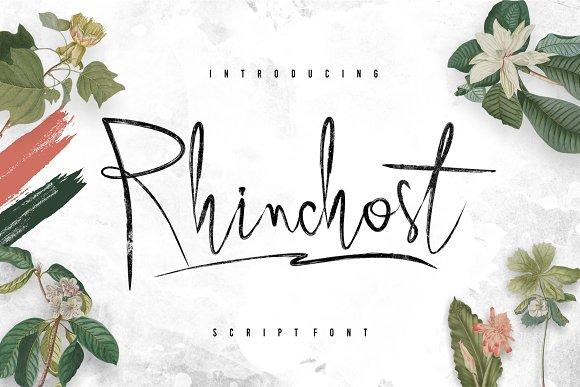 Rhinchost Typeface