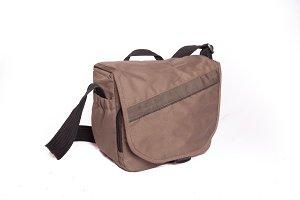 photographer bag shoulder bag on whi