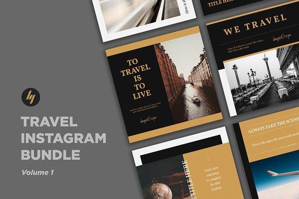Templates: Luuqas Design - Travel Social Media Pack
