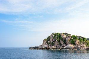 Shark Cape in Ko Tao island Thailand