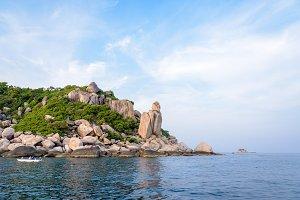 Buddha Point at cape in Ko Tao island