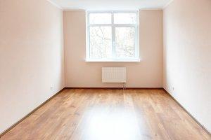Light empty room