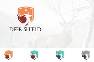 Deer Logo Save Protection Shield