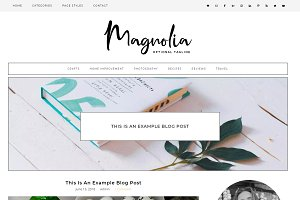 Wordpress Theme Magnolia