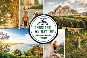 LANDSCAPE & NATURE LIGHTROOM PRESETS