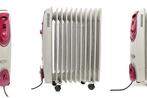Oil electric radiator heater