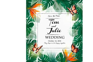 Wedding invitation desing.