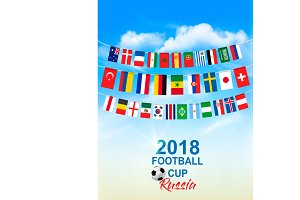 Football 2018 world championship